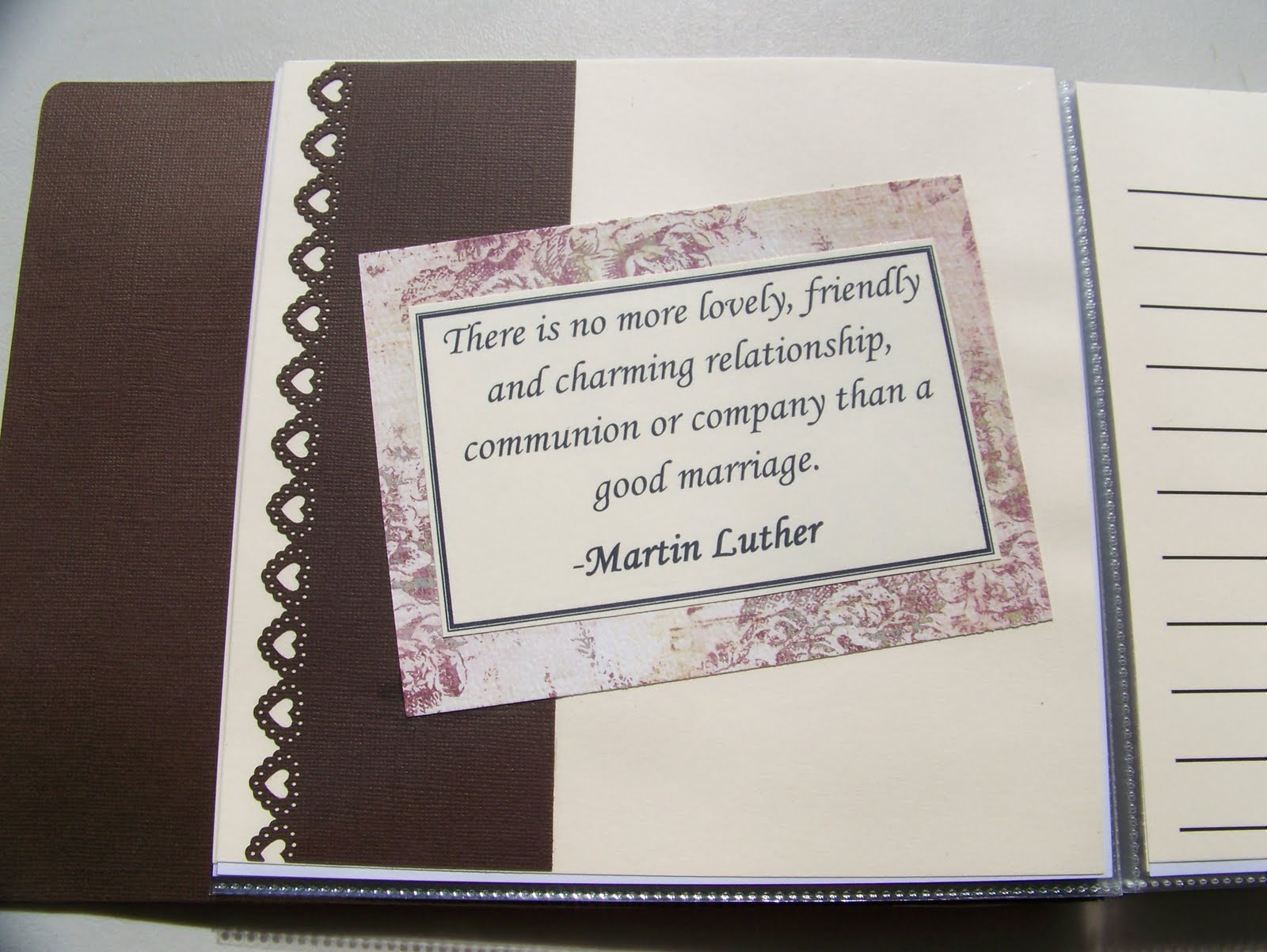 Bridal Shower Quotes For Scrapbooking QuotesGram