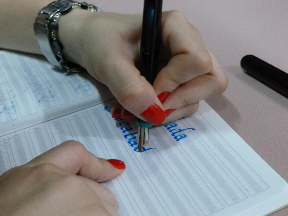 caligrafia arte y diseo Academia Monet de caligrafa