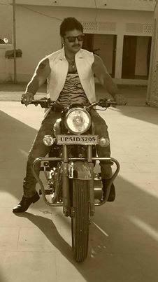 Pawan Singh Sarkar Raj Bhojpuri Movie First Look Poster Shooting stills