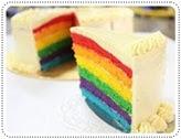 rainbow kek wif italian buttercream