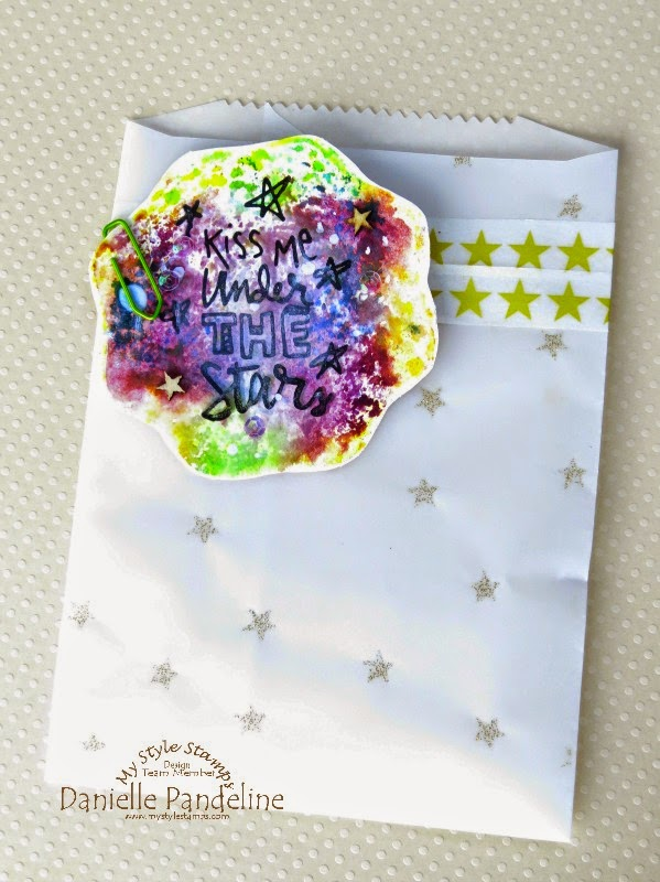Under the Stars | Featuring My Style Stamps | Created By Danielle Pandeline