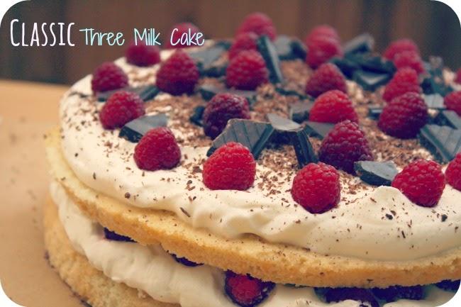 Dobroty Dulinka: PASTEL de TRES LECHES or THREE MILK CAKE - Výzva The ...