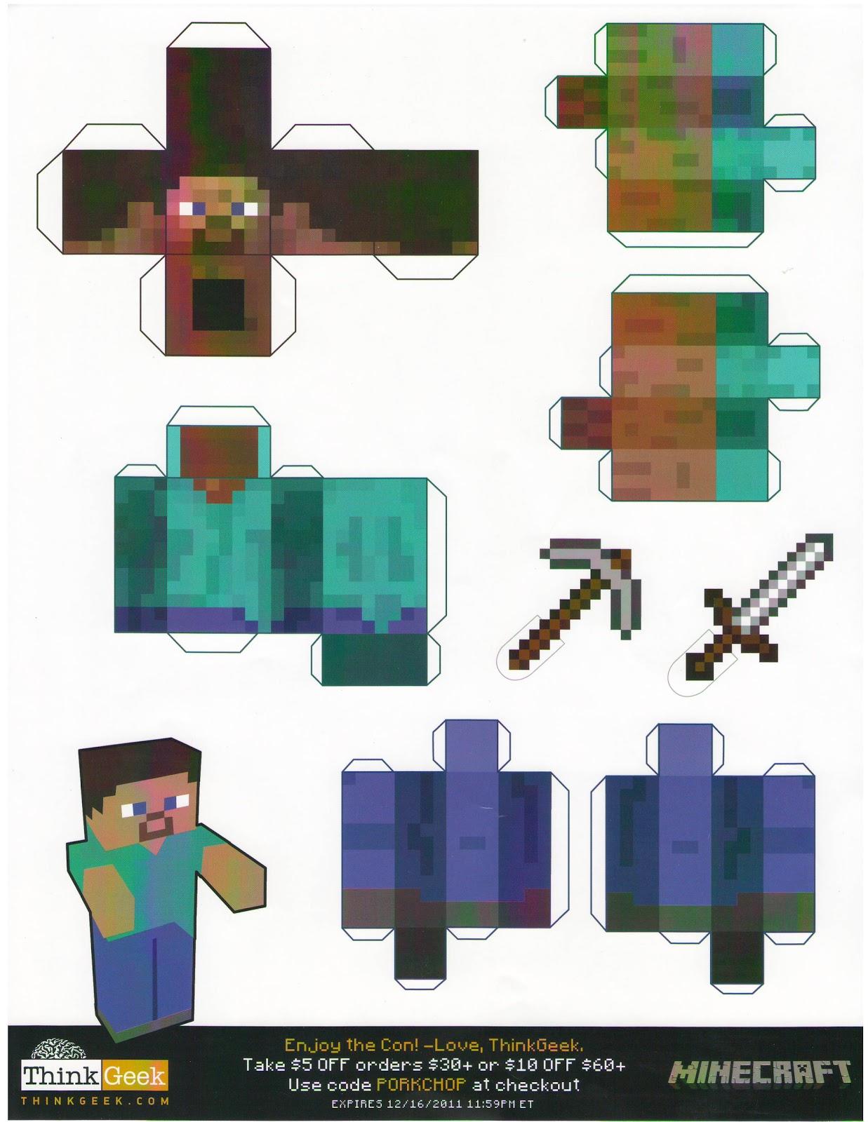 Paper Minecraft V Minecrap
