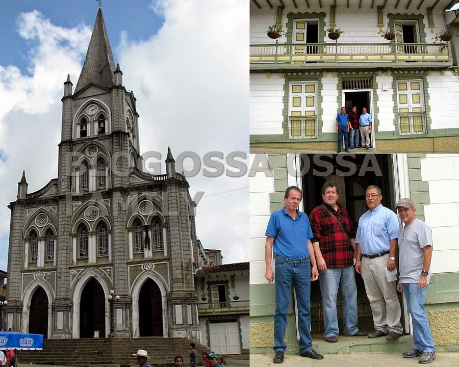 Tras la Ruta de los Ossa: Italia – España – Colombia. Reconstruyendo la historia de los Ossa IV