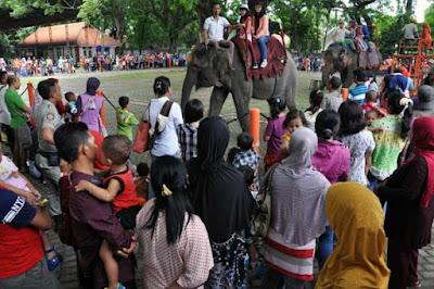 Liburan Panjang, Tempat Wisata Surabaya Di Jejali Pengunjung
