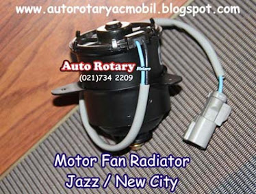 Motor Fan Radiator Honda Jazz / New City