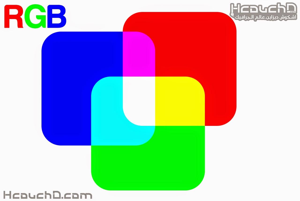 نمط RGB Color :