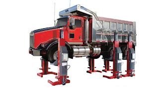 Elevadores Portatil para Camión y Autobus Forward Lift