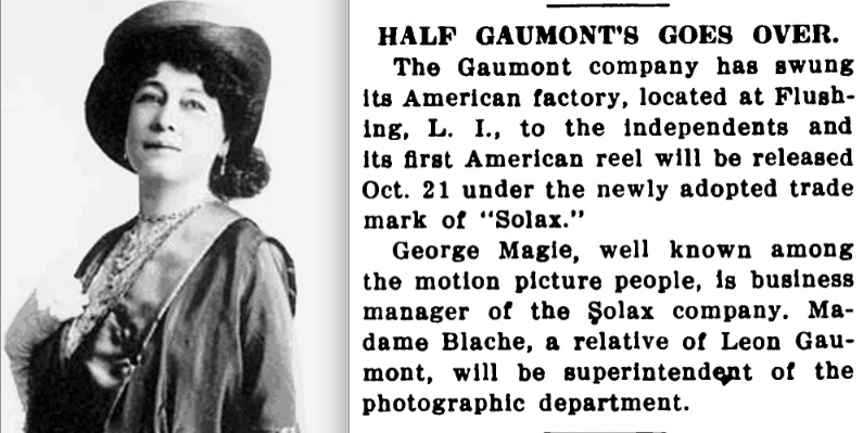 Alice Guy Blache Be Natural ©riginal story