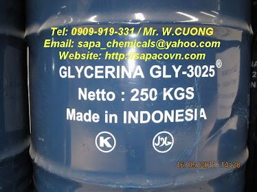 GLYCERINE 99,5% - USP - ind grade