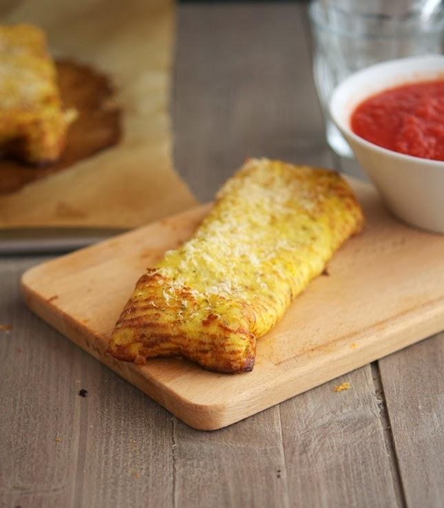 Cauliflower Crust Hot Pockets