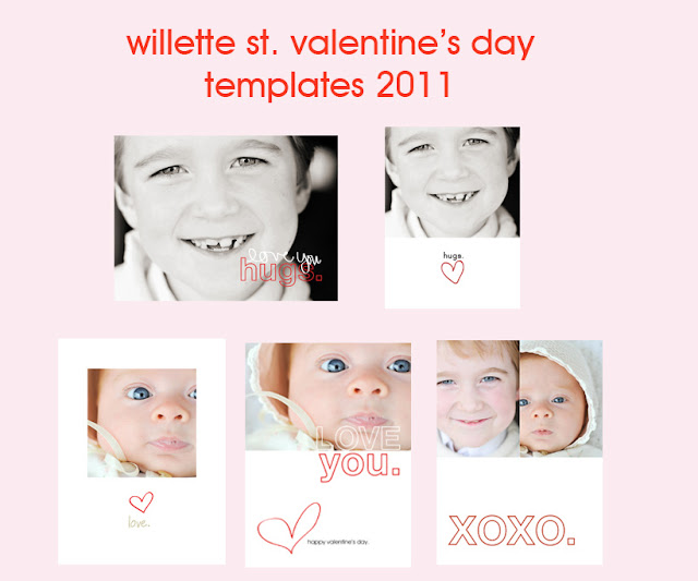 2011 val template examples Valentine Photo Template Roundup