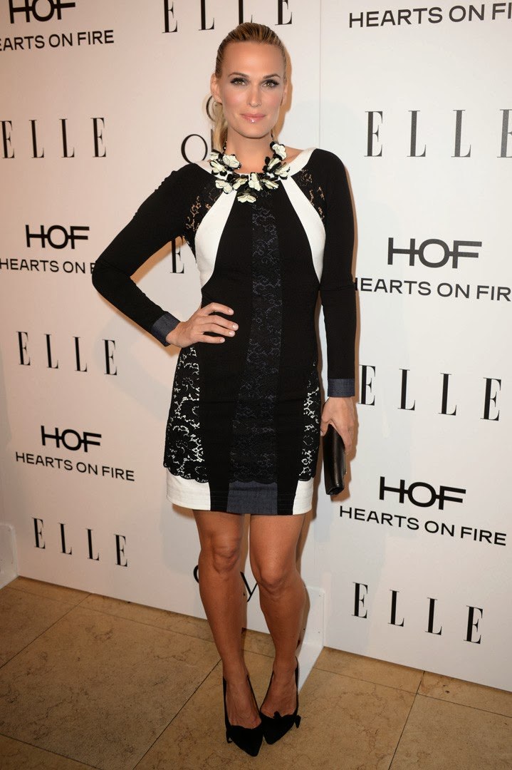 Elle's Women in Television Molly sims