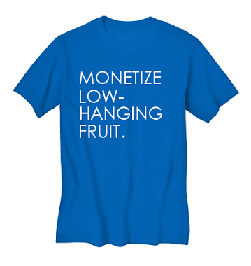 be a fruit monetizer