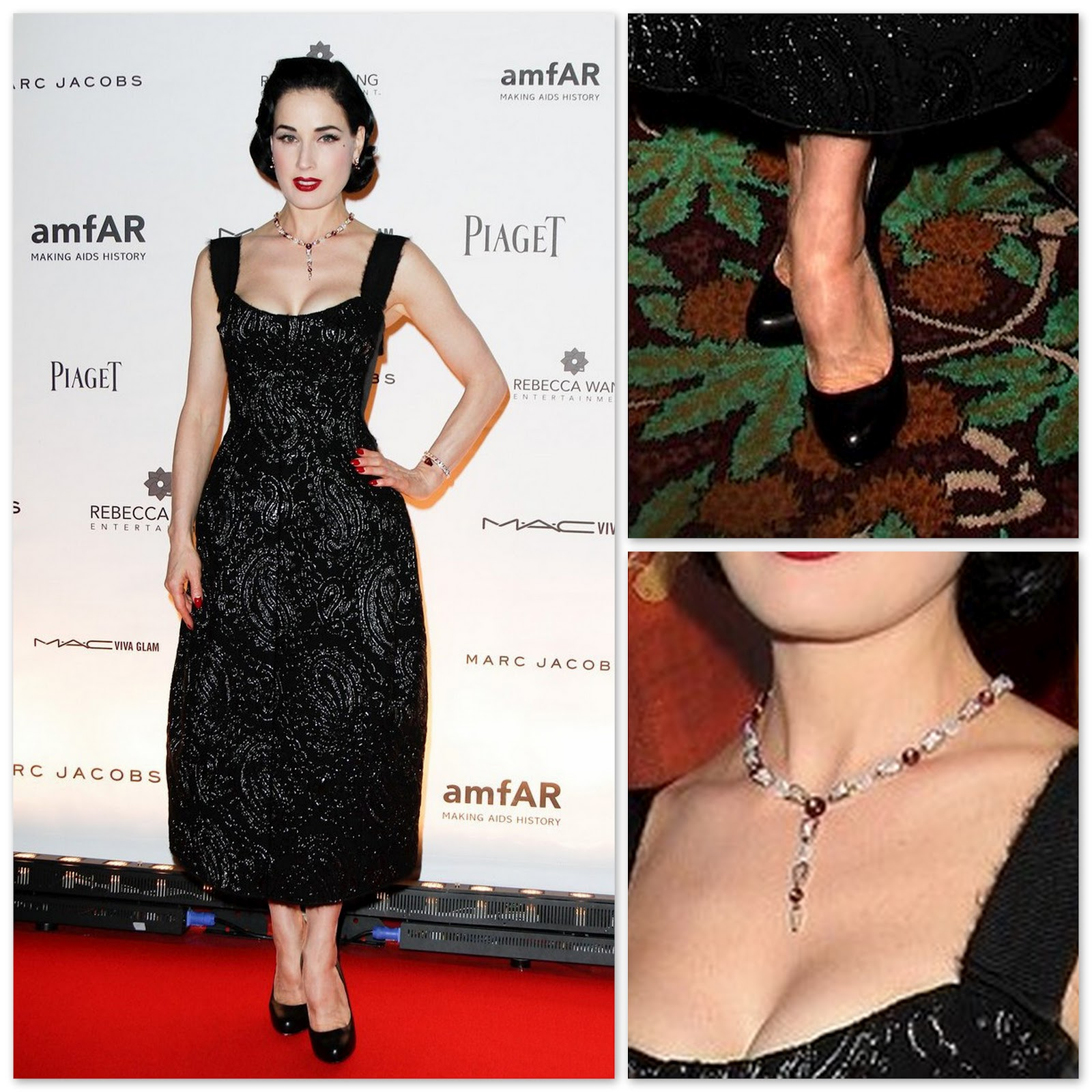 dita von teese wedding ring dita von teese in marc jacobs