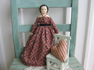 A beautiful 1800&#39;s Style Artist Made Doll by Christine Lefever
