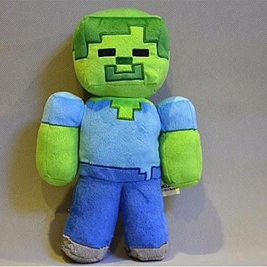 Peluche minecraft Zombie