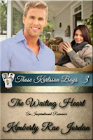 The Waiting Heart by Kimberly Rae Jordan - a four star contemporary, Christian romance