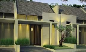 Desain rumah tampak depan