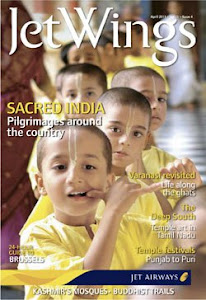 Jet Wings Inflight Magazine of Jet Airways, July 2012 issue