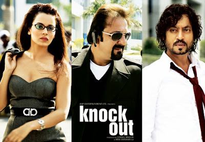 Poster Of Bollywood Movie Knock Out (2010) 300MB Compressed Small Size Pc Movie Free Download World4ufree.Org