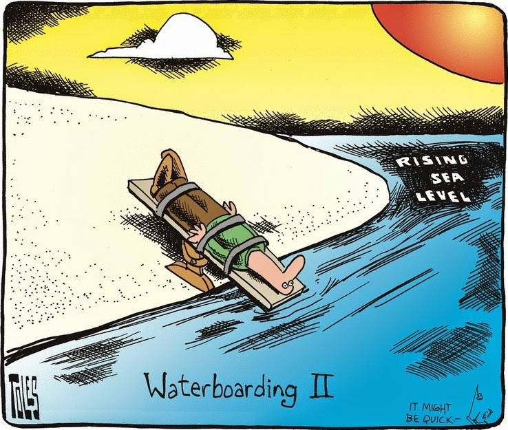 Tom Toles: Waterboarding II.
