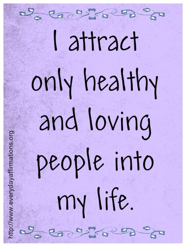 Affirmations for Love, Daily Affirmations