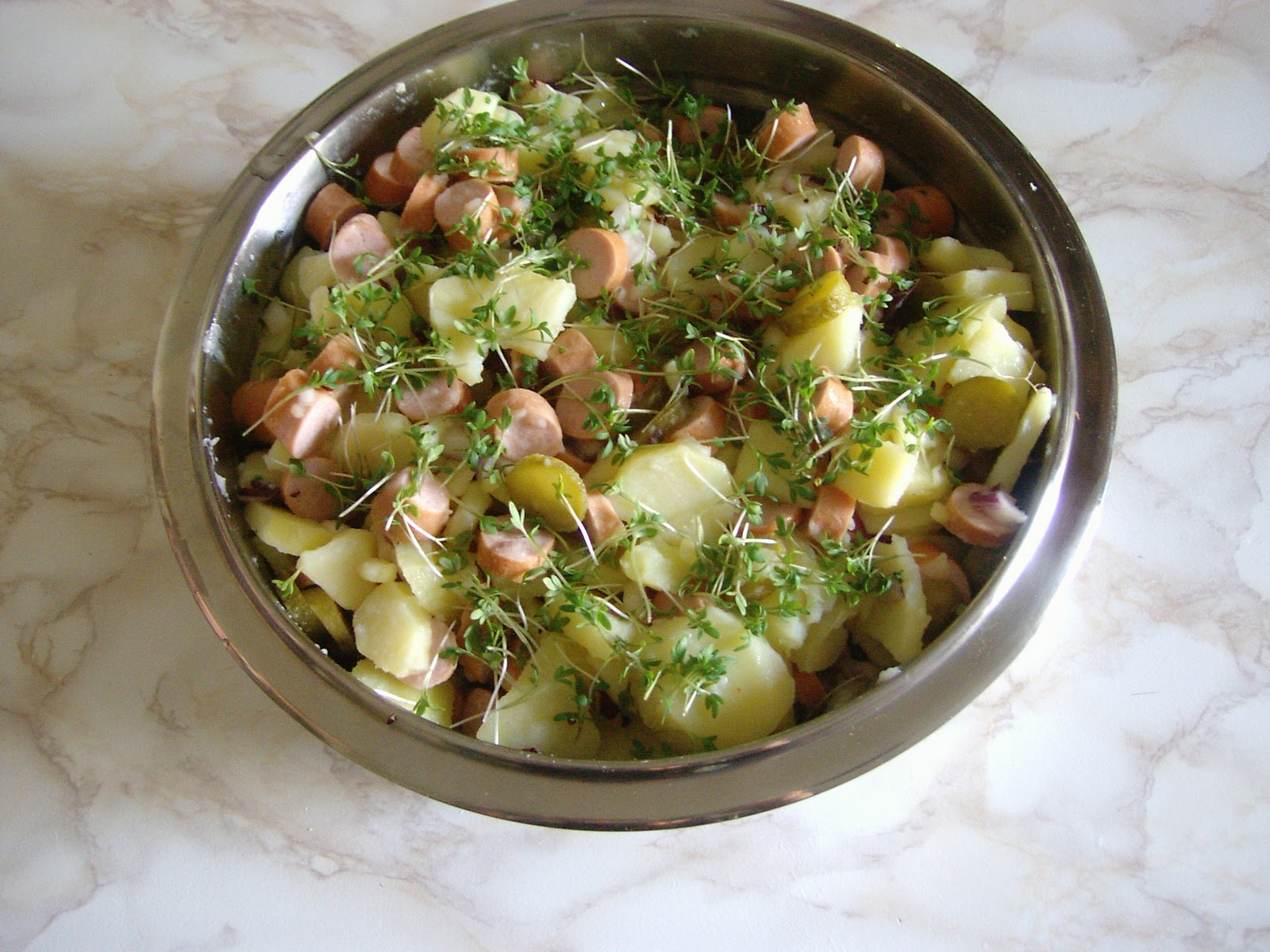 Potato salad Der Kartoffelsalat | Lami German