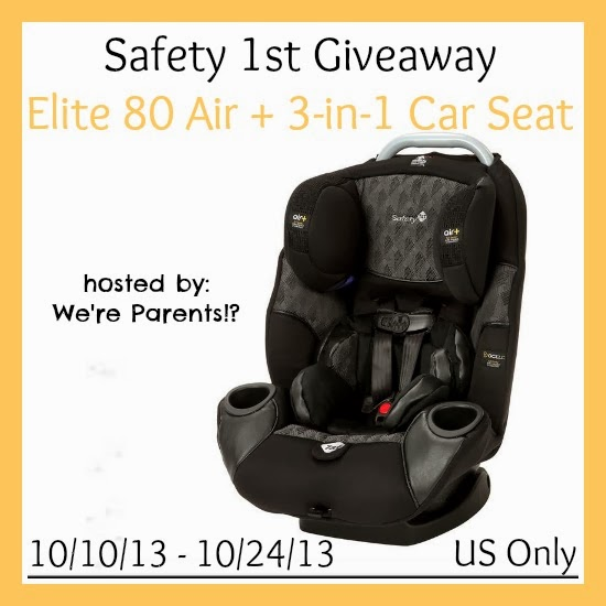 teddyoutready safety 1st elite 80 air 3 in 1 car seat giveaway us. Black Bedroom Furniture Sets. Home Design Ideas