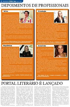 Matéria para o JORNAL DO SETA - agosto 2009