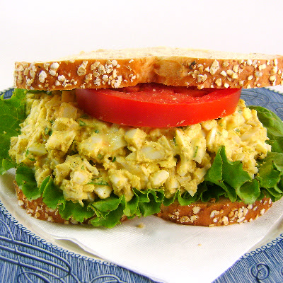 Two Years Ago Today: Curried Egg Salad