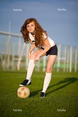 Cute%Girl%With%Football%Soccer