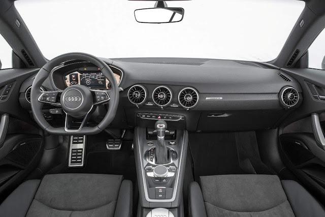 Novo Audi TT 2015 - interior - painel