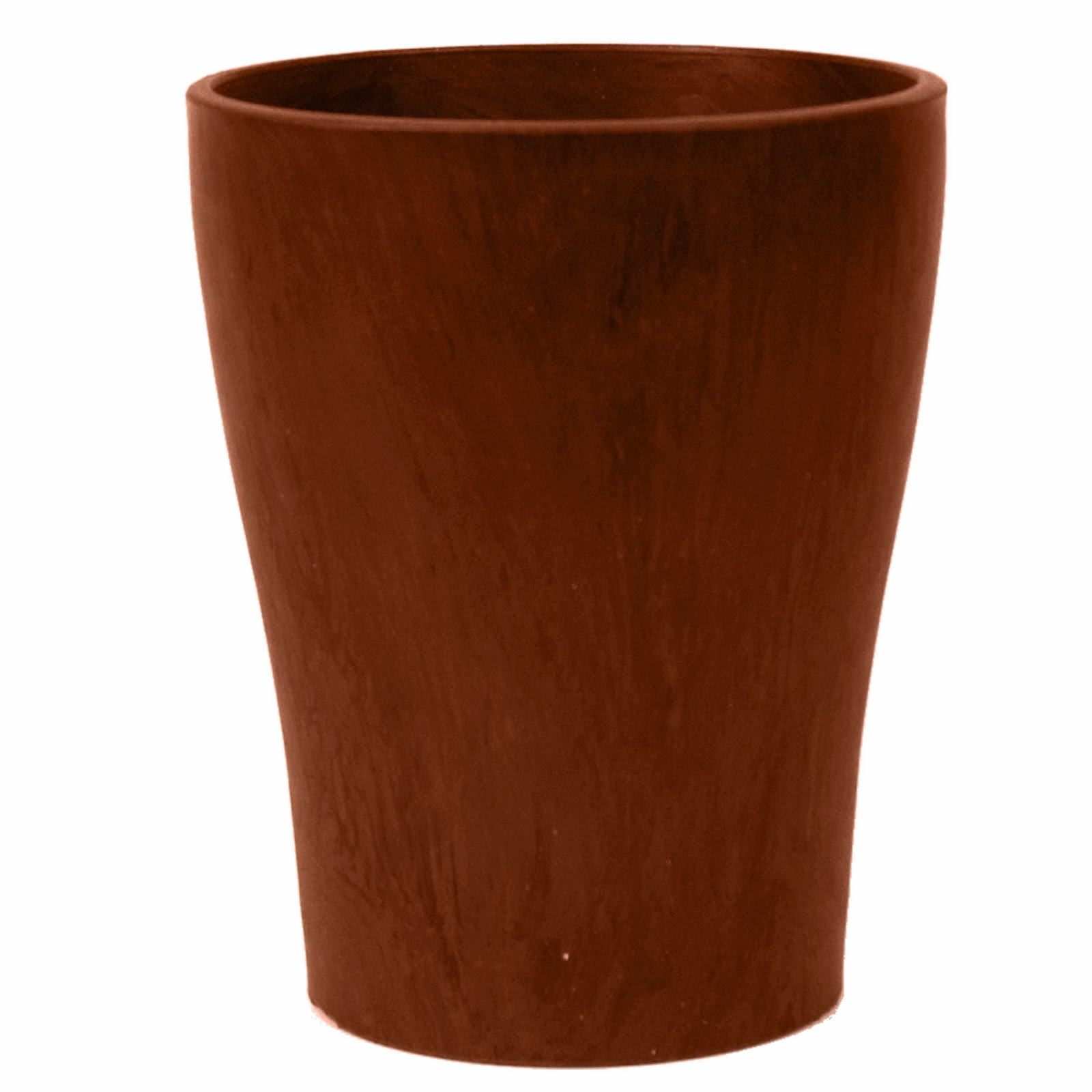 Mad for mid century cheap modern planters a simple diy for Terracotta works pots