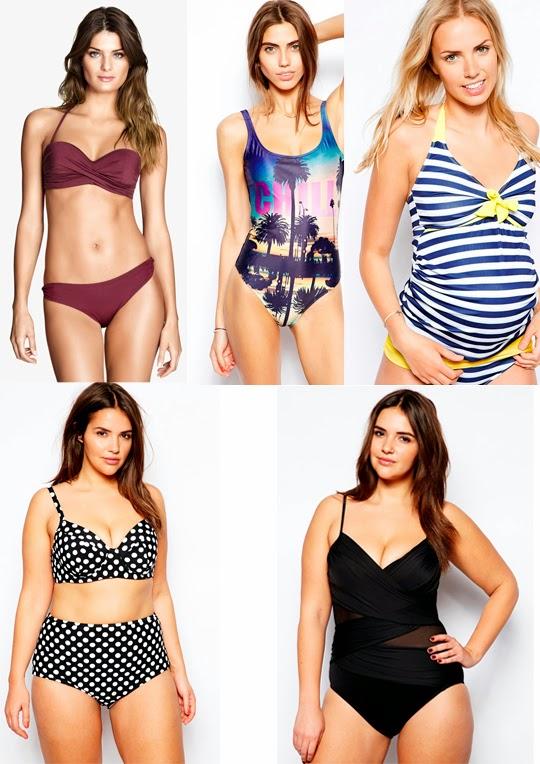 Bikinis y bañadores