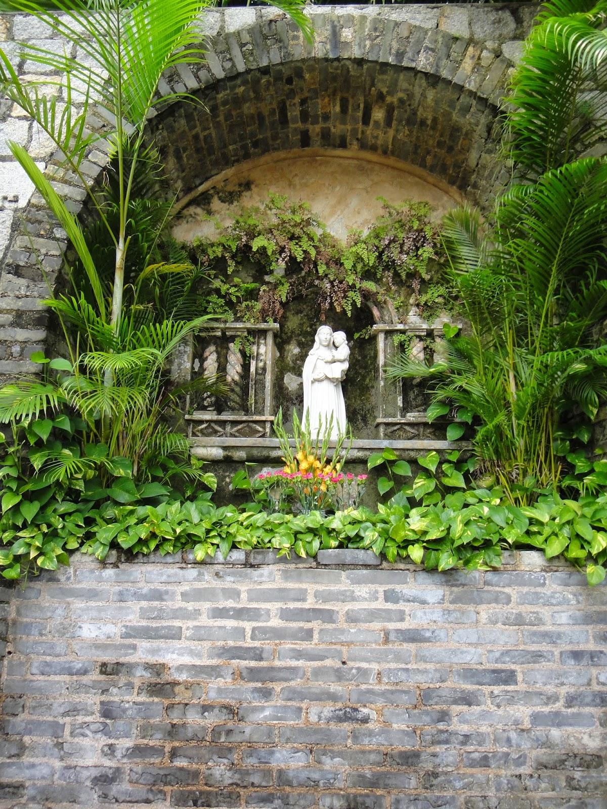 Monte Fort Statue of Virgin Mary Macau