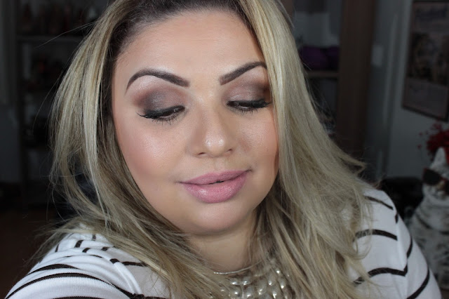 vídeo, tutorial, produtos nacionais, fashion mimi, preparação de pele, olhos neutros, marrom, dailus, vult, batom, beleza