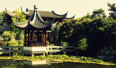 lan su chinese garden pacific northwest travel photography