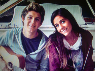 One Direction's Niall Horan and Amy Green