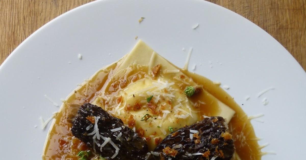 Sam Cooks Food: Guinea fowl and smoked mozzarella ravioli ...