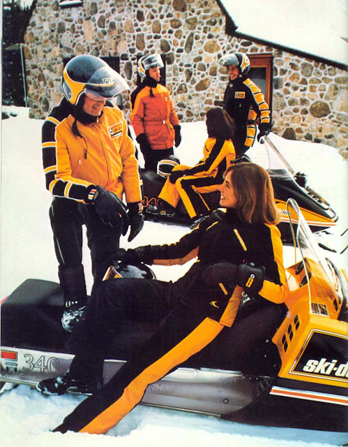 Bringing Sexy Back u2013 What we can learn from vintage snowmobile fashion | illicit snowboarding