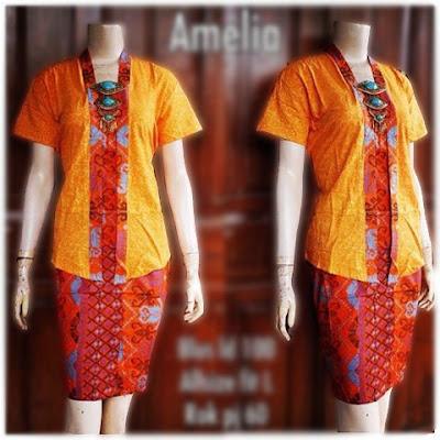 Kebaya Batik Amelia KBW 286