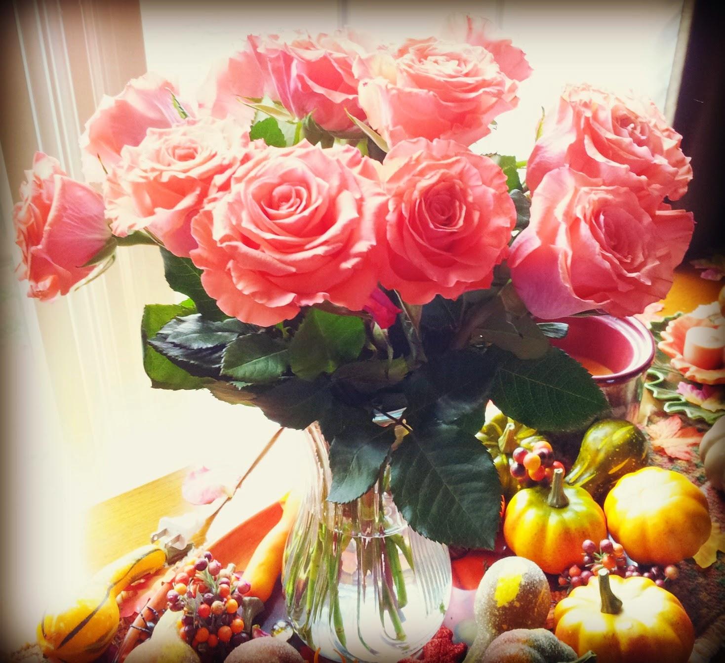 Clapper chronicles october 2014 my birthday flowers october 17th izmirmasajfo