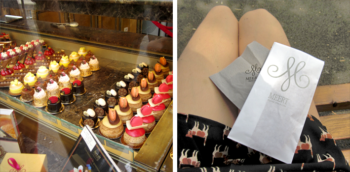 Lille - la pâtisserie Meert - http://spicerabbits.blogspot.fr/