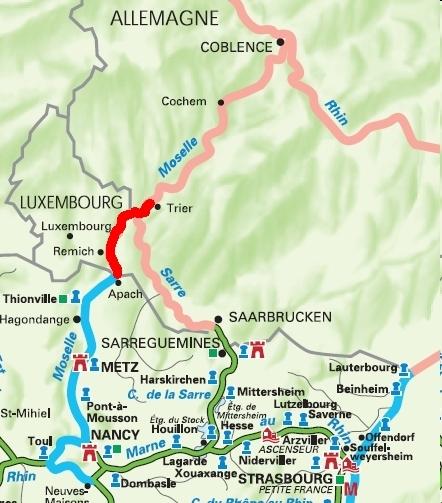 Les voyages du tiguidou la moselle de trier schengen - Les jardins du val de moselle ...