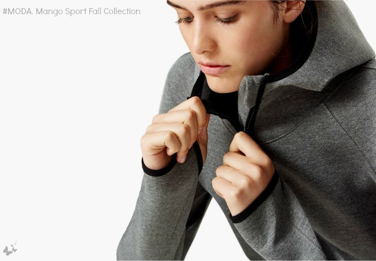 #MODA. Mango Sport Fall Collection