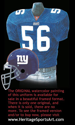 New York Giants 2000 uniform