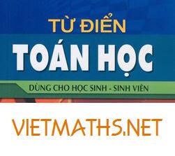 tieng anh chuyen nganh toan hoc, nguyen huu dien, tu dien toan hoc