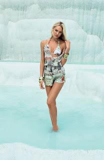 Candice Swanepoel, Candice Swanepoel bikini, Candice Swanepoel boyfriend, Candice Swanepoel underwear photo, Agua de Coco Brazil's 2013, Pamukkale, Turkey, Turkey travel, Turkey hotels