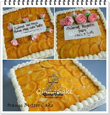 Orange Butter Cake